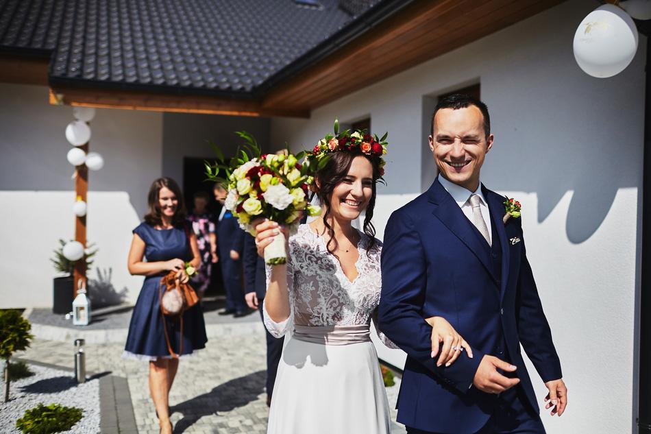 Dominika & Radek - reportaż ślubny